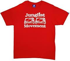 Aerosoul <b>Junglist Movement</b> T-Shirt Red: Amazon.co.uk: Clothing