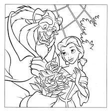 Kleurplaat Beauty And The Beast 8101 Kleurplaten
