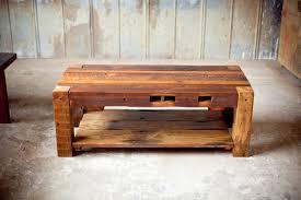 rustic wood coffee table inspiring