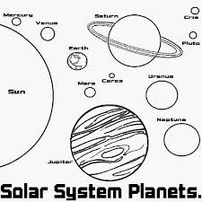 Small Picture Solar system coloring pages to download and print for free