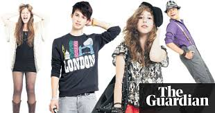 teenage fashion what s cool now life and style the guardian