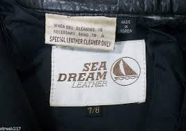 sea dream leather size 7 8 las lady motorcycle biker pants us 0 99