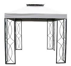 gazebo replacement canopy steel gazebo