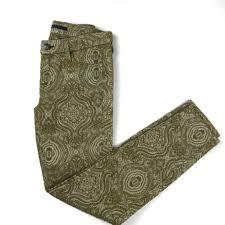 Fidelity Jeans Size Chart Fidelity Ace Venetian Brocade Skinny Jeans