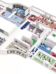 office living. placemaking floorplan office living