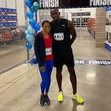 Athletics - Allyson Felix x Usain Bolt ...