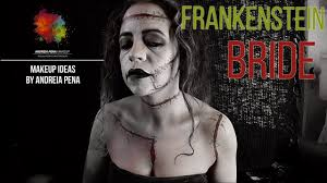 frankenstein bride frankenstein inspired makeup diy makeup tutorial