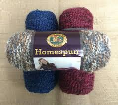 Lion Brand Free Crochet Patterns Classy Lion Brand Homespun Yarn AllFreeCrochet