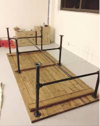diy pallet iron pipe. Metal Pipe Bed Frame Lovely Diy Pallet Iron Coffee Table  Industrial Diy Pallet Iron Pipe P