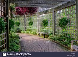 garden enclosure. Garden Enclosure - Stock Image