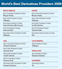 the awards cover each asset class across the three main financial regions of the world north america europe and asia as well as overall awards for the best