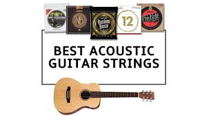 Find The Right Acoustic Guitar Strings To Suit Your Sound