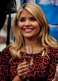 The this morning presenter wore her £760 designer love jacket as she cosied up with her. Holly Willoughby Wikipedia
