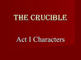 the crucible act characters