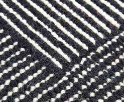black and white rugs home stripe rug round skip to the end of images gallery australia black and white rugs