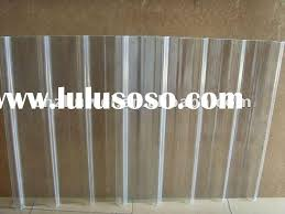 frp clear corrugated plastic roofing sheets plastic
