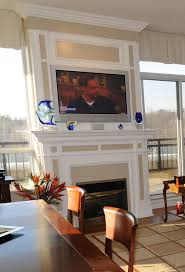 When To Mount A TV Over A Fireplace U2014 SPACES Custom InteriorsMounting A Tv Over A Fireplace