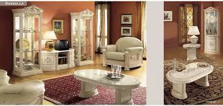 italian living room furniture. Rosella Cream Classic Italian Dining Room Furniture Set Living