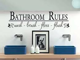 marvellous wall sayings for bathroom es bathroom wall art bathroom bathroom wall sayings funny