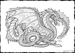 Free Printable Baby Dragon Coloring Pages Realistic Dragon Coloring