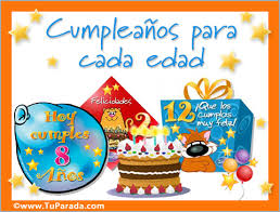 tarjetas de cumplea os para ni as tarjetas de cumpleaños con el número de años postales con el número