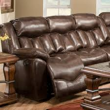 Hendrix Reclining Sofa W/Table by Franklin Corporation ...