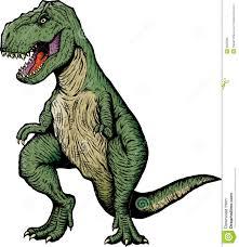Resultado de imagem para tiranossauro rex desenho