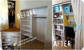 turn closet into office. Inspirational Cozy Converting Closet Into Office Space No More Laundry Decor6 Turn Photos .