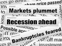 悪い投資家向けニュース弱気相場金融新聞の切り抜き不完全な言葉ベクトル イラスト