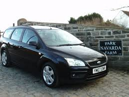 Ford Focus Style Estate In Black, 2007 07 reg,Service History ...