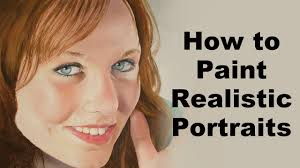 how to paint portraits realistic portrait painting tutorial you