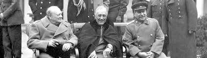 Image result for roosevelt and churchill yalta