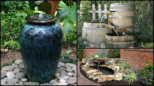 Small Picture Diy outdoor garden fountains Video and Photos Madlonsbigbearcom