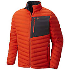 Mountain Hardwear M Stretchdown Jacket State Orange Fast
