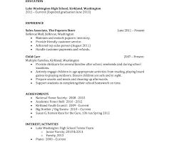 Sample Resume For Highschool Graduate Unique Sample Resume For High School Graduate With No Experience 54
