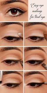 how to do cly eye makeup best 25 easy eye makeup ideas on