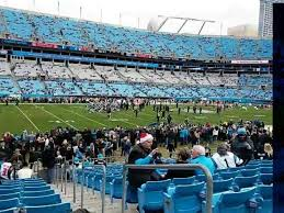 Bank Of America Stadium Section 136 Home Of Carolina Panthers