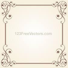 Image Line Floral Sign Up To Join The Conversation Behance Vintage Ornate Frame Border Design Vector On Behance