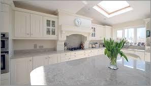 spacious room glows with the white granite countertops kashmir white granite