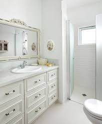 Traditional White Bathrooms White Bathroom Cabinets Wall With Traditional White Wall