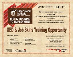currently recruiting métis people looking for training or environmental career program