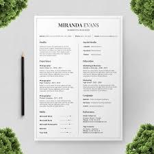 Colorful Resume Templates Resume Cv Templates Colorful Polite Resume Template 55