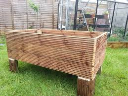 Planter Box Plans | Garden Planter Box Plans | Elevated Garden Bed