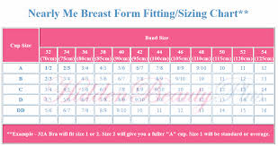Nearly Me Extra Lite 335 Asymmetrical Breast Form