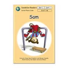 dandelion readers set 1 sam