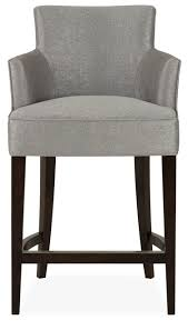 the sofa and chair company paris carver bar stool in grey