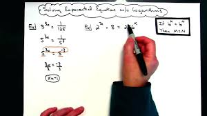 solve using logs math solving exponential equations without using logarithms solve ln math