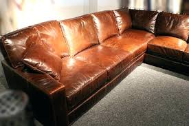 saddle tan leather sectional color sofa wonderful brown with kc designs traditional c saddle color leather sectional