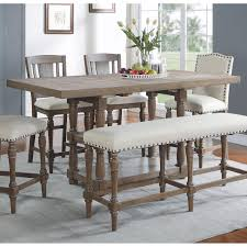 tall dining table for winners only xcalibur hayneedle design 0