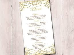 gold wedding menu card template wedding reception menu Wedding Reception Menu Cards gold wedding menu card template wedding reception menu flourish gold \